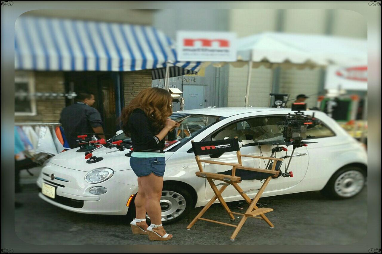 Girl on Cell Phone from Matthews Studio Equipment - Cine Gear Expo 2015