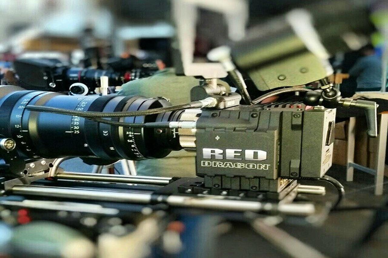 Red Camera Dragon - Cine Gear Expo 2015